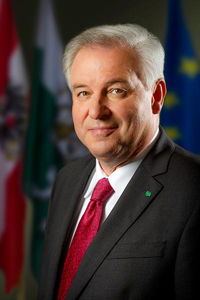 Landeshauptmann Hermann Schützenhöfer